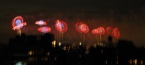Fireworks o're the Hudson